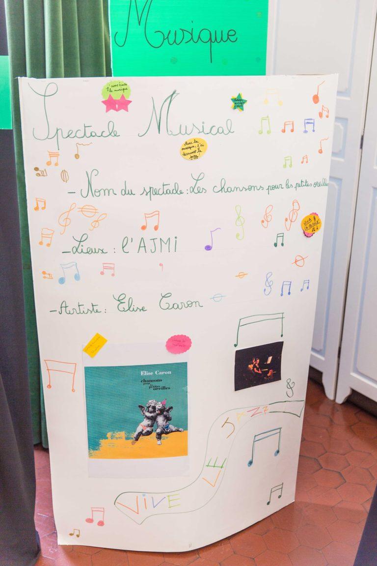 Le Jazz et la musicalité des mots à l'honneur lors d'une sortie à l'AJMI avec le spectacle d'Elise Caron.  Les élèves s'en souviennent et nous passe l'info!