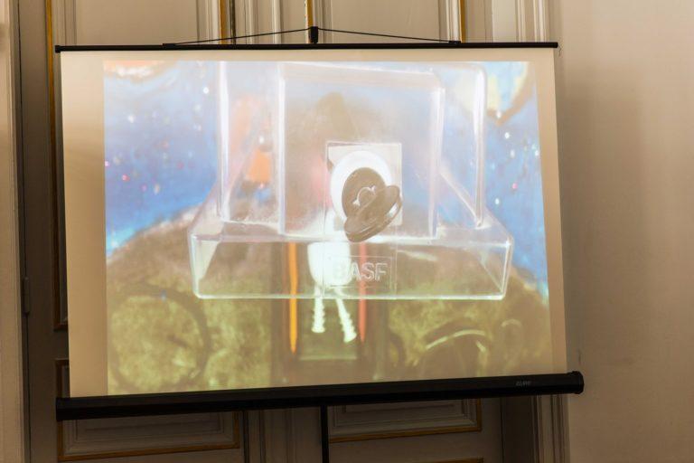 les élèves ont bien entendu présenté au public leurs films d'animation réalisés avec Cinambule!