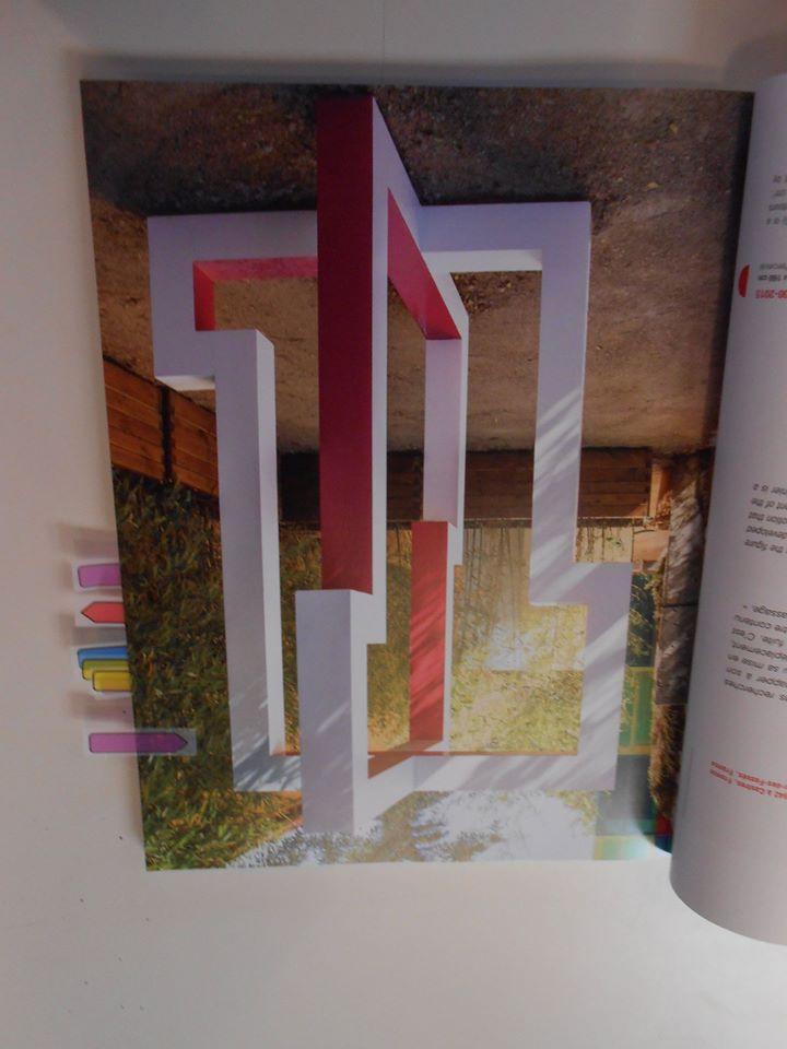 Retour à l'Art: mettre des marques pages là où l'on voit des sculptures basées sur les règles de la géométrie pour les montrer aux autres copains.
