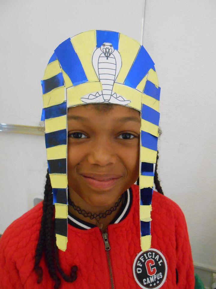 tadam! Je vous présente une pharaonne de champfleury!