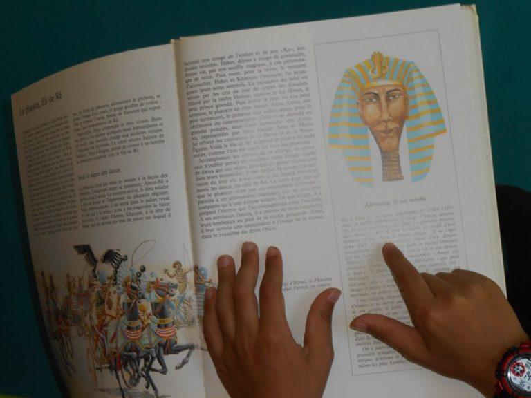 """""""j'ai trouvé des infos sur un pharaon!"""""""